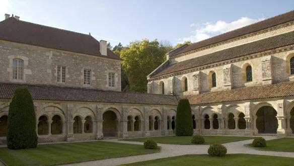 voyage en bourgogne abbaye de fontenay