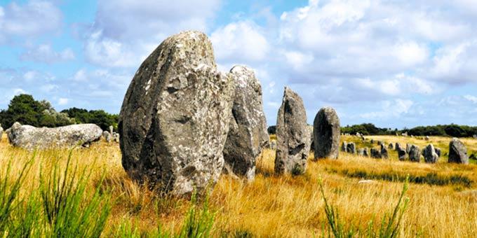 Carnac Bretagne menhirs